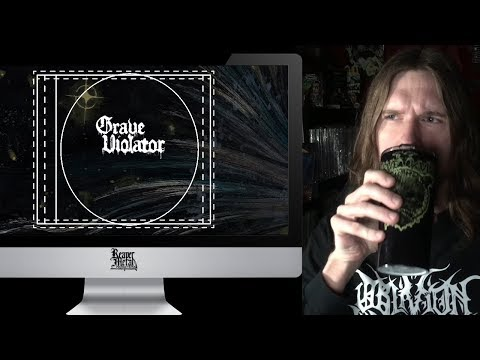 Designing Finnish Metal Band GRAVE VIOLATOR CD release