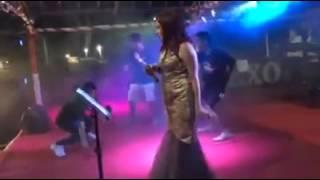 sally Marcelina di Luwuk Sirom Konser Bhineka