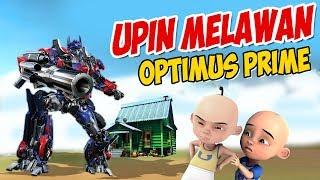 Upin ipin melawan Optimus Prime Transformers MP3