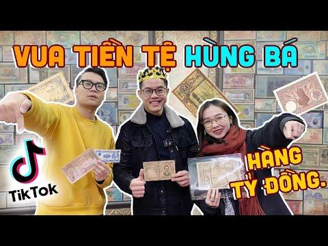 Mi Sơn ghé thăm hot TikTok Hùng Bá - Vua Tiền Tệ: Bộ sưu tập tiền trị giá tỉ đồng !