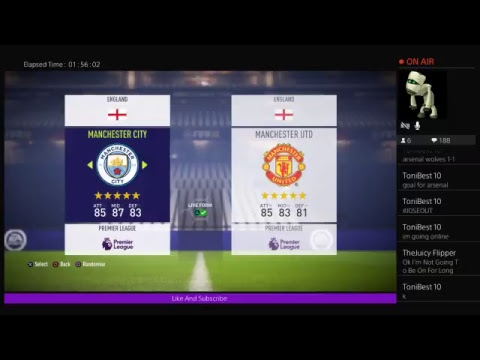 Man city match live commentary