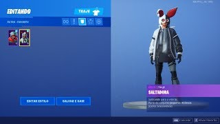 "NEW ""BLACK/WHITE"" STYLES SELECTABLE FROM THE ""ROSNADOR"" AND ""JUMPER"" SKINS! Fortnite"
