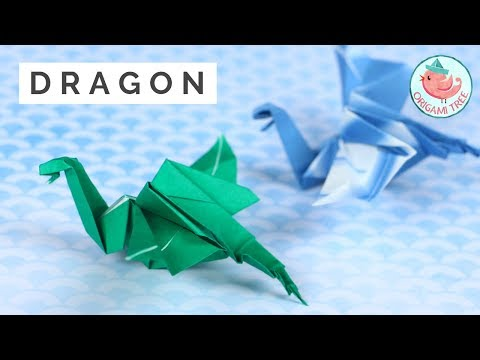 Origami dragon tutorial step by step | How to make a paper dragon ... | 360x480