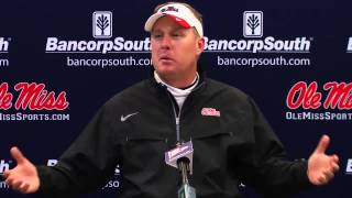 Egg  Bowl Post Game Presser