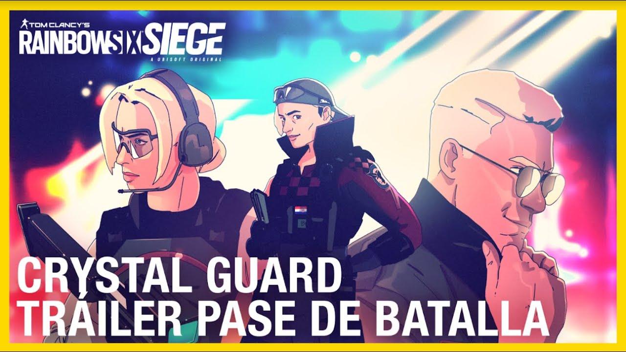 Rainbow Six Siege - Crystal Guard Tráiler Pase de Batalla | Ubisoft LATAM