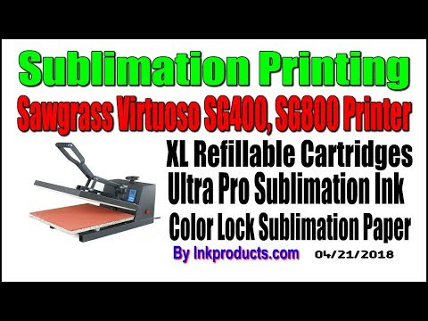 Dye Sublimation Ink Refill Kit For Sawgrass SG400, SG800