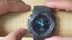 cc0522664 How to set Time and Calendar Casio G Shock 5081 (Analog and Digital) -  Duration: 3:02.