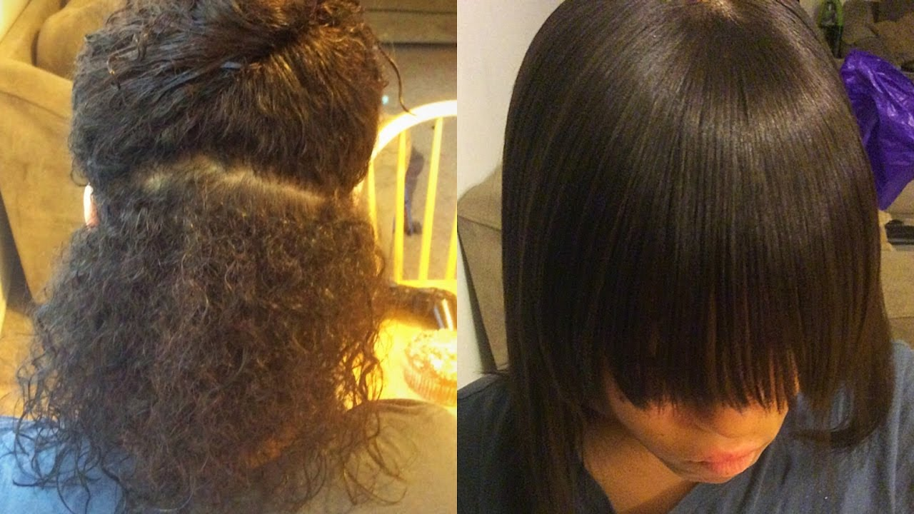 Tips and Tricks Silk Blow out on Natural 3b 3c Hair Supa