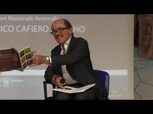 Incontro pubblico con Il Procuratore Nazionale Antimafia Federico Cafiero De Raho