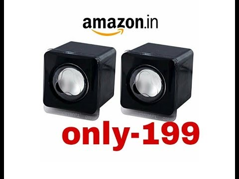 OYD HS900 2.0 Channel Multimedia Speakers unboxing price only 199 |