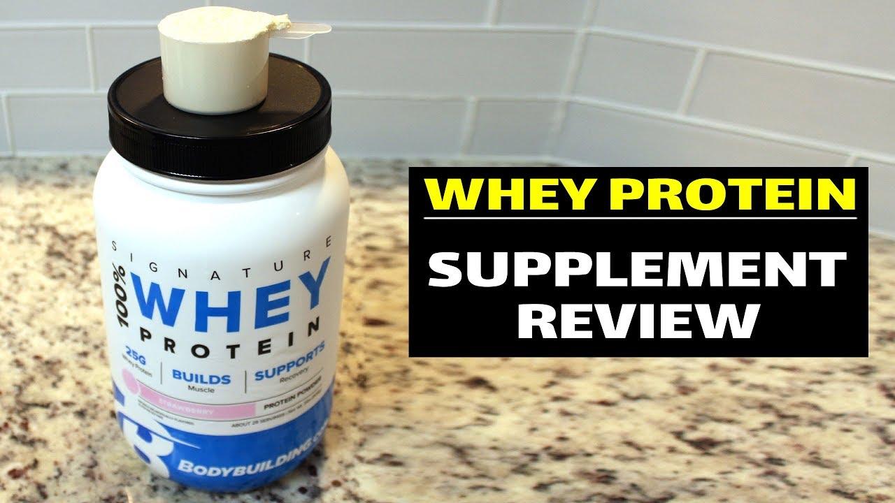 BodyBuilding.com Signature 100% Whey Protein Powder Review