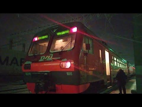 Поездка в ЭД4М-0199 от станции Курган-пригородный до о. п. 2364 км