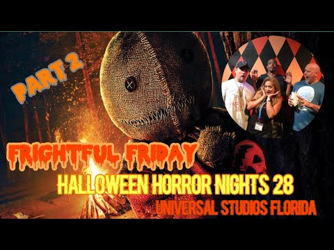 ????LIVE. Frightful Friday Part 2. Halloween Horror Nights 28.