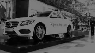 Автоподиум ТК Горизонт Ростов на Дону. Экспонирование автомобиля в торговом центре