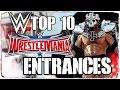 Top 10 der coolsten WWE WrestleMania Einzüge Entrances DEUTSCH GERMAN