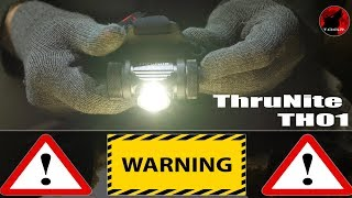 Watch Before Buying! - ThruNite TH01 Headlamp - Real Review