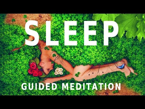 Guided meditation - sleeping under a dome of positive energy | relaxation and sleep hypnosis