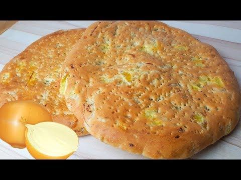 نان پیازی | Onion Bread
