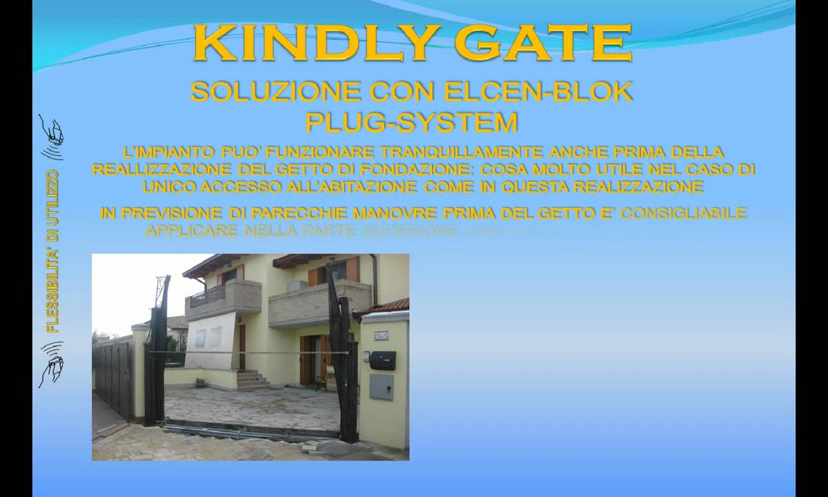 Presentazione 39 39 the kindly gate 39 39 cancello ad alzata b for Cancello telescopico