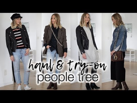 AD | People Tree haul & try-on | Sustainable fashion