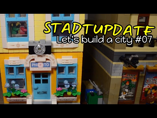 STADTUPDATE | Let's build a City #07 | Just make a Photo!