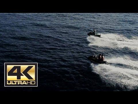 Jet Ski - Ile de la Reunion - St Gilles - Drone 4K