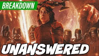 ALL MY UNASWERED QUESTIONS FROM RISE OF SKYWALKER