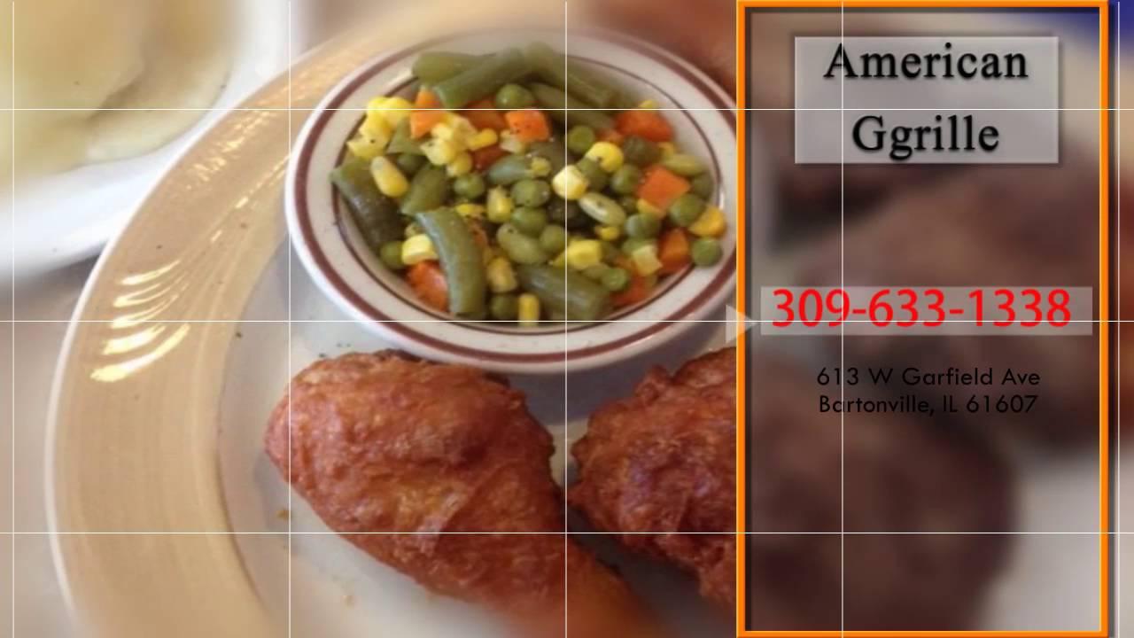 American Grille Local Restaurant In Bartonville Il 61607