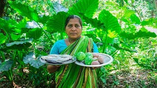 Village Cooking: Cup Fish with Eggplant, Potatoes Cooking Recipe by Village Food Life