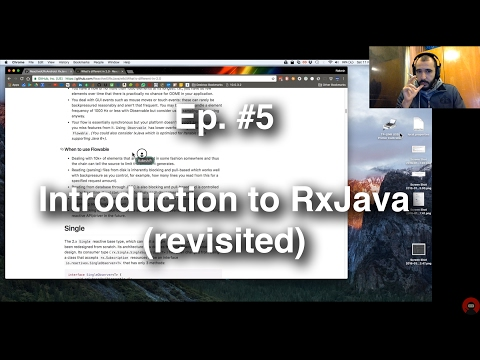 Refactoring an Android App - #5 - Introduction to RxJava (revisited)