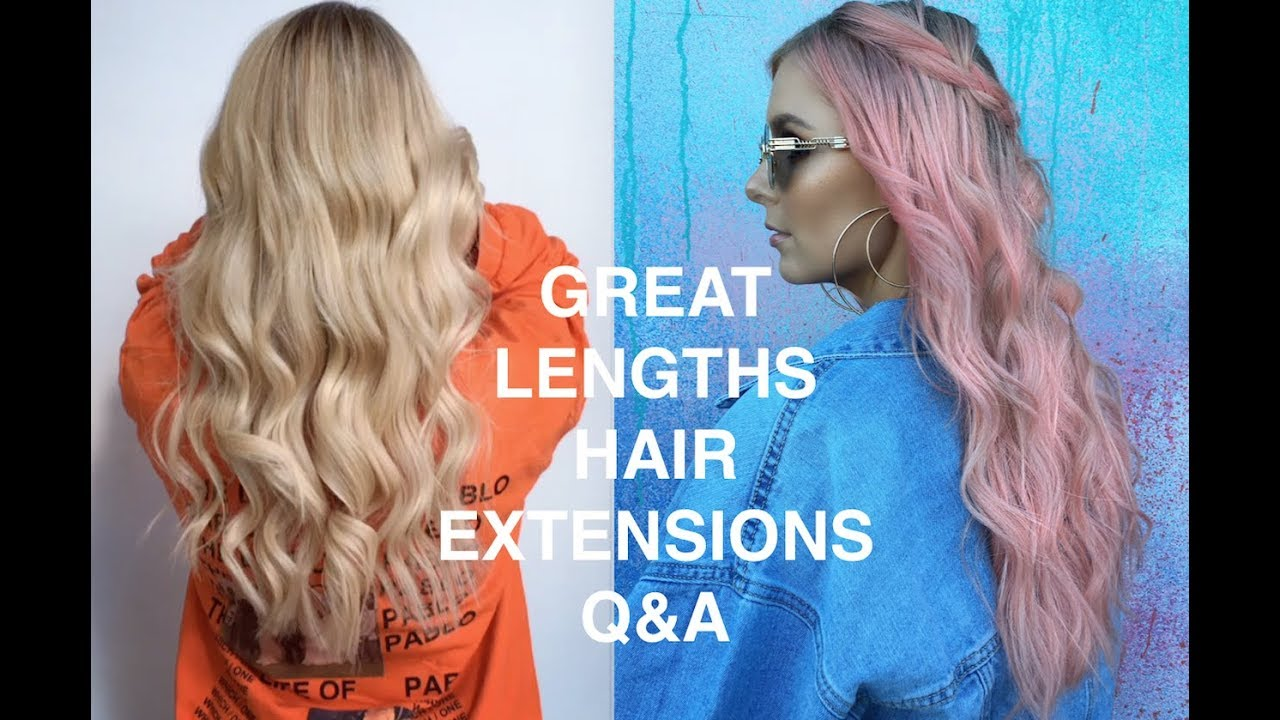 Great Lengths Hair Extensions Full Review Rachael Brook Youtube