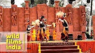 'Ka Shad Mastieh' dance by Khasi tribe of Meghalaya