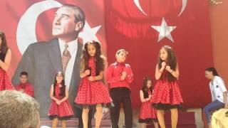 Hakimiyeti milliye 4 K sınıfı 19 mayıs dans gösterisi Video