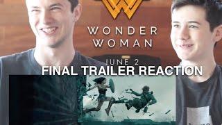 Wonder Woman FINAL TRAILER: Our Reaction