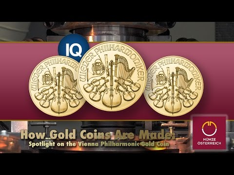 CoinWeek IQ: How Gold Coins Are Made: Spotlight on the Vienna Philharmonic Gold Coin - 4K Video