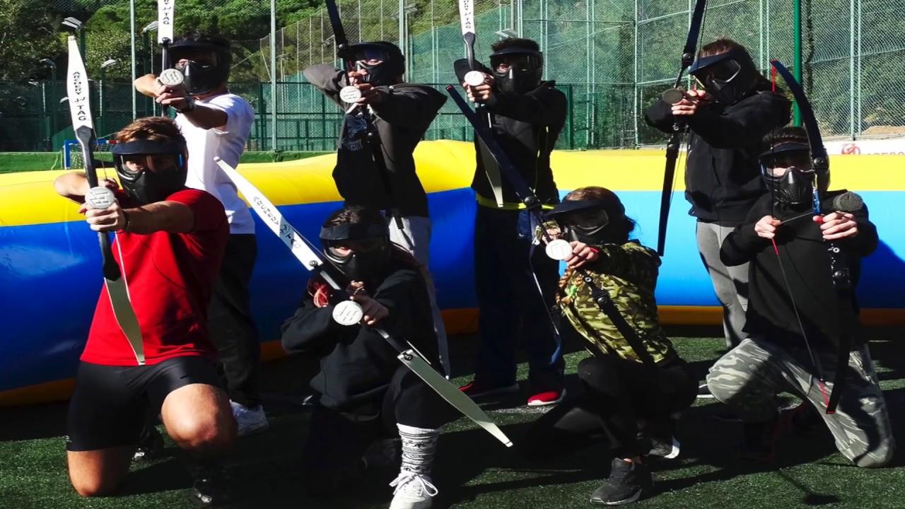 Resultado de imagen de archery tag barcelona