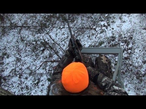 Rifle Buck Season Deer Hunting 2012 - John #1