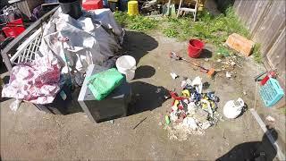 Demo House Tour \u0026 Cleaning My Storage Yard