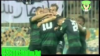 شباب قسنطينة 1 ـ نادي مصر للمقاصة 0 : هدف مراد مغني