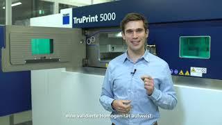 TRUMPF: Ask the Expert – TruPrint 5000 gas flow design