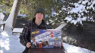 NERF N-Strike Elite XD Retaliator Unboxing and Review