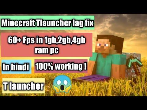 Lag fix in Minecraft pc |100%working | Tlauncher lag fix in Minecraft