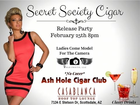 Secret Society Cigar Release Party 2017