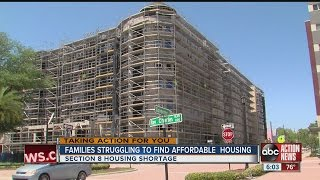Families anxiously waiting for Section 8 housing