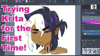 LET'S TRY: Krita!! (free art program)
