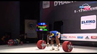 2011 Paris World Weightlifting Championships - Men