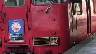 [知立駅60周年系統板‼️]名鉄6000系三河ワンマン車 6042f(普通猿投行き)知立駅 発車‼️