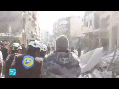 سوريا: مقتل 18 شخصا بانفجار في جسر الشغور الواقعة تحت سلطة الحزب التركستاني  - نشر قبل 27 دقيقة