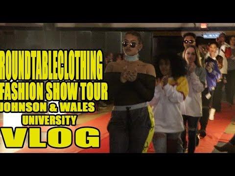 FASHION SHOW TOUR VLOG🔥!! JOHNSON&WALES UNIVERSITY FT BALENCIAGA, DRAKE, SUPREME, MIGOS, YEEZY 🙌🏽