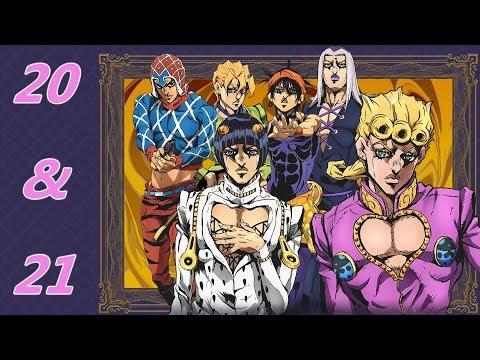 anime-reactions-w/friend(s):-jojo's-bizarre-adventure-golden-wind--episode-20-&-21